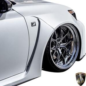 【M's】LEXUS 10 GS 前期 GS350 GS250 (2012.1-2015.11) AIMGAIN 純VIP GT フロントワイドフェンダー 左右 // FRP エイムゲイン エアロ
