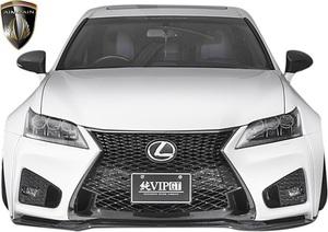 【M's】レクサス 10 GS 前期 GS350 GS250 (2012.1-2015.11) AIMGAIN 純VIP GT フロントバンパー // FRP エイムゲイン エアロパーツ