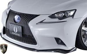 【M's】LEXUS 30系 IS 前期 F SPORT (2013.5-2016.9) AIMGAIN 純VIP SPORT フロントアンダースポイラー // FRP エイムゲイン エアロ