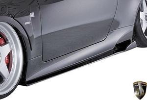 【M's】レクサス RC F SPORT 前期 GSC10 AVC10 (2014.10-2018.9) AIMGAIN 純VIP SPORT Type2 サイドステップ 左右 // エイムゲイン 外装