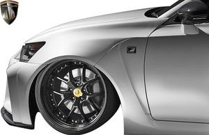 【M's】レクサス 10GS 前期 GS350 GS250 (2012.1-2015.11) AIMGAIN 純VIP GT フロントワイドフェンダー LR // FRP エイムゲイン エアロ