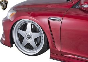 【M's】レクサス 19 GS 後期 GS350 GS450 (2007.11-2012.1) AIMGAIN 純VIP GT フロントフェンダー 左右 // FRP エイムゲイン エアロ