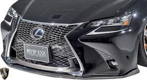 【M's】LEXUS 10 GS 後期 GS350 GS250 (2015.11-) AIMGAIN 純VIP SPORT フロントアンダースポイラー / FRP+CARBON エイムゲイン エアロ
