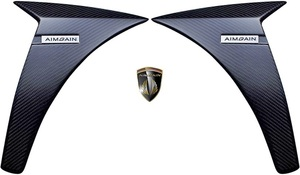 【M's】LEXUS 30系 IS 前期 F SPORT (2013.5-2016.9) AIMGAIN 純VIP SPORT フロントフェンダーパネル 左右 // CFRP エイムゲイン エアロ