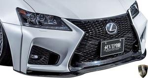 【M's】レクサス 前期 10系 GS350 GS250 (2012.1-2015.11) AIMGAIN 純VIP GT フロントバンパー // FRP エイムゲイン エアロ パーツ GS