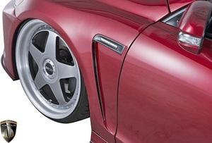【M's】レクサス 19GS 後期 GS350 GS450 (2007.11-2012.1) AIMGAIN 純VIP GT フロントフェンダー LR / FRP エイムゲイン エアロ カスタム