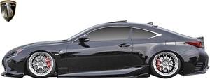 【M's】LEXUS 前期 RC F-SPORT GSC10 AVC10 (2014.10-2018.9) AIMGAIN 純VIP SPORT Type2 サイドステップ 左右 // エイムゲイン エアロ
