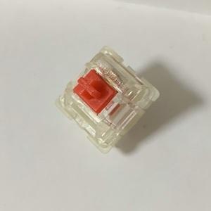[中古扱い] Steelseries キーボード キー交換スイッチ QX2 Red( 赤軸 ) 1個 (複数販売あり)