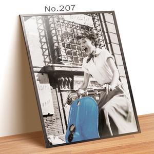 No.207 A4サイズ インテリアポスター おしゃれ 海外アート ポスターのみ 送料無料