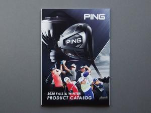 【カタログのみ】PING 2020 FALL & WINTER CATALOG 検 G425 G710 i210 i500 iBLADE BLUEPRINT GLIDE DRIVER PUTTER G Le2 SIGMA2 Prodi