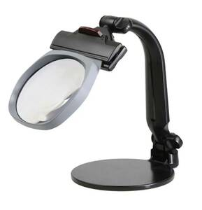 TERASAKI big I S3 stand magnifier big I -S3 / magnifying glass LED magnifier light attaching clip stand type big light tera saki