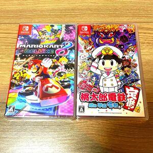 マリオカート8デラックス 桃太郎電鉄 Nintendo Switch ニンテンドースイッチ