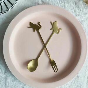 インスタ 可愛い お洒落 食器  2本セット スプーン フォーク カトラリー