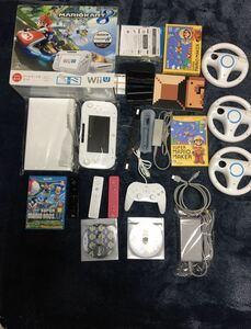 WiiU本体マリオカートセット マリオカートや大乱闘スマブラで四人対戦!スプラトゥーン対戦可能! 大人気5タイトルセット 3