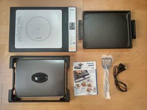 未使用品 即決 Panasonic IHホットプレート KZ-HP1000 (専用プレート付き)IH調理器 送料無料♪