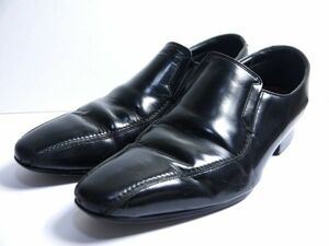 リーガル REGAL ビジネスシューズ 黒 24.5cm 日本製 P203-73