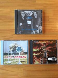 【CD】BECK/ONE FOOT IN THE GRAVE・ODELAY・MELLOW GOLD ★★匿名配送 送料無料