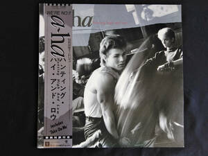a-ha アーハ Hunting High And Low 帯付き(A)