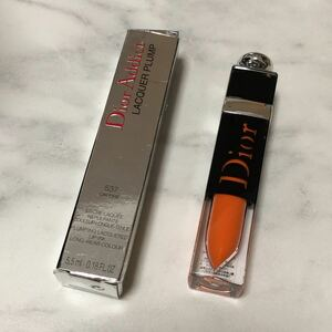 ディオール アディクト ラッカー プランプ 537 オン ファイヤ Dior