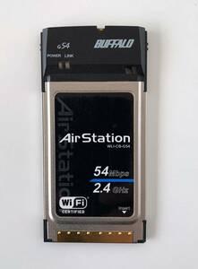 ★美品 BUFFALO Air Station CardBusスロット用無線LANカード WLI-CB-G54