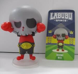 ☆2 POP MART LABUBU SPORTS ミニフィギュア BOXING ボクシング スポーツ ラブブ HOW2WORK Kasing Lung INSTINCTOY