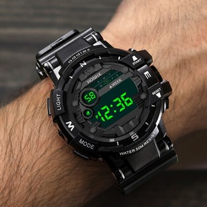 ak31 メンズウォッチ LEDデジタル カジュアル腕時計 スポーツ ギフト ユニセックス ミリタリークロック RelogioMasculino