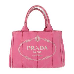 PRADA プラダ カナパ 1BG439 トートバッグ コットン PEONIA 2WAY ハンドバッグ【本物保証】
