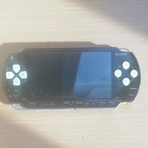 PSP-1000本体(動作品!!)PHANTASY STAR PORTABLE モンハン2ndソフト2本付き!