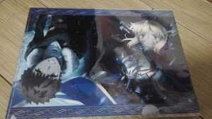 【新品】Fate/stay night Heaven's Feel クリアファイル 衛宮士郎 セイバー TYPE-MOON 型月 奈須きのこ ヘブンズフィール ufotable 武内崇