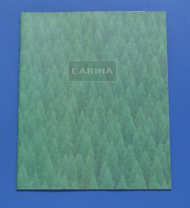 トヨタ  カリーナ TOYOTA CARINA AT191 1995年9月 カタログ 価格表付き