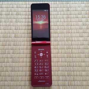 SIMフリー 美品 F-05G docomo ドコモ 赤 レッド ガラケー 携帯 au softbank 残債なし 格安SIM 3Gガラケー ガラホ 本体送料無料 その91
