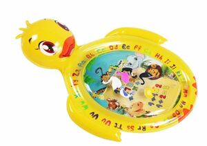 Water Mat Baby Water Play Mat 知的開発ゲーム楽しいカラフルなおもちゃ、男の子&女の子の成長脳の赤ちゃんのおもちゃ
