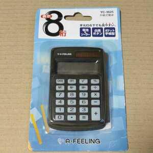 ◆手帳式電卓 YC-3625