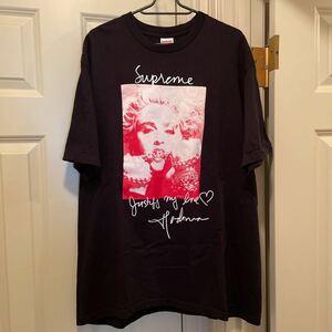 L Supreme Madonna Tee 18FW Large Black シュプリーム マドンナ Tシャツ 半袖 ブラック 黒 18AW