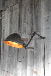 アンティークインダストリアルウォールランプ[ail-31]ハンギングブラケットガレージインテリア灯りペンダントビンテージマシンライト工業系