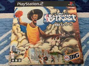 PS2体験版ソフト NBAストリート 体験版 非売品 Electronic Arts PlayStation DEMO DISC 送料込み NBA Street basketball