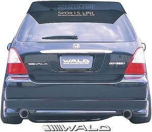 【M's】ホンダ RA6/RA7 オデッセイ アブソリュート (H13.12-H15.9) WALD Sports Line リアスカート//FRP ヴァルド バルド エアロ