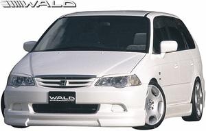 【M's】HONDA 前期 RA6/RA7 オデッセイ (H11.12-H13.11) WALD Sports Line フロントスポイラー//FRP製 ヴァルド バルド ODYSSEY エアロ