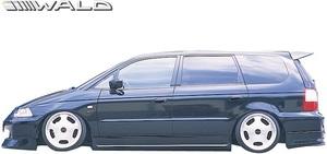 【M's】HONDA RA6/RA7 オデッセイ アブソリュート (H13.12-H15.9) WALD Sports Line サイドステップ 左右//FRP ヴァルド バルド エアロ