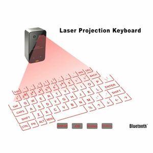 Bluetoothレーザーキーボードワイヤレス仮想投影ポータブルキーボード