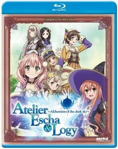 【送料込】エスカ&ロジーのアトリエ 全12話 (北米版 ブルーレイ) Atelier Escha & Logy blu-ray BD