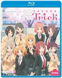 【送料込】桜Trick 全12話 (北米版 ブルーレイ) Sakura Trick blu-ray BD