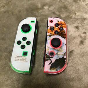 Nintendo Switch Joy-Con 任天堂 スイッチ ジョイコン ケース カバー 花柄 かわいい おしゃれ 保護