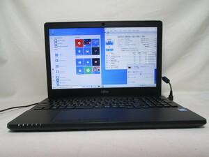 富士通 FMV LIFEBOOK AH42/Y Celeron 3855U 1.6GHz 4GB 480GB 爆速SSD(新品) 15.6型 DVDマルチ Win10 64bit Office USB3.0 Wi-Fi [78585]