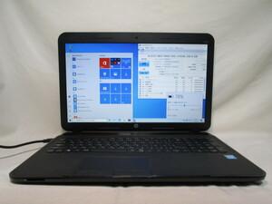 HP 250 G2 F6Q48PA#ABJ Celeron 1000M 1.8GHz 4GB 240GB 爆速SSD(新品) 15.6インチ DVD作成 Win10 64bit Office USB3.0 Wi-Fi HDMI [78650]