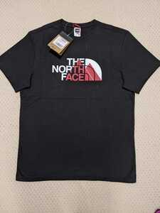 新品 送料無料 The north face Biner Graphic 1 Tee TNF Black Mサイズ(日本Lサイズ相当)ノースフェイス Tシャツ