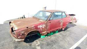 Nissan Skyline Hakosuka 2Dr document equipped! part removing restore old car Showa era engine L type Ken&Mary Nissan Datsun turtle have ka Mary Tomei