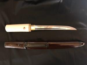 日本刀 短刀 無銘 拵付