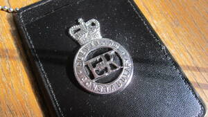 ポリスバッジ イギリス警察 クリーブランド警察B