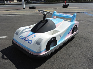 GD012 レトロ 子供用乗り物 スーパーカー 車 電動カー 長期保管品 ルマン ジャンク品 アミューズメント施設 アミューズメント